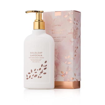 Rich moisturizing Goldleaf Gardenia Body Creme from the Thymes, Ltd.