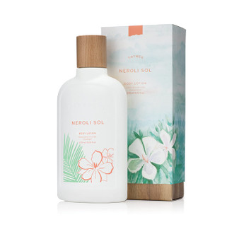 A day near the sea with the added benefit of maximum skin hydration.  Neroli Sol by the Thymes