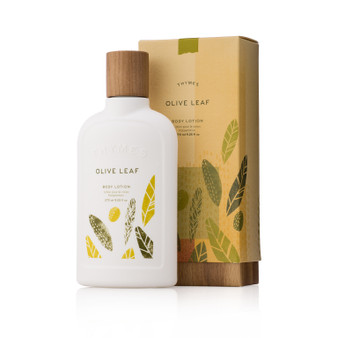 Olive leaf body lotion - boxed