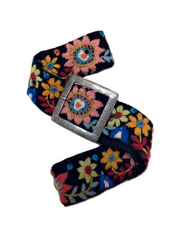 Aria Embroidered Belt
