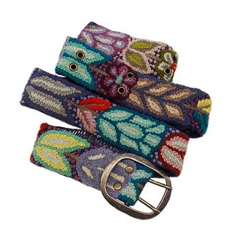 Folklorico Embroidered Belt