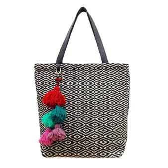 Diamond tote bag from Jenny Krauss