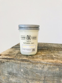 Candle Jar - Vanilla + Tobacco