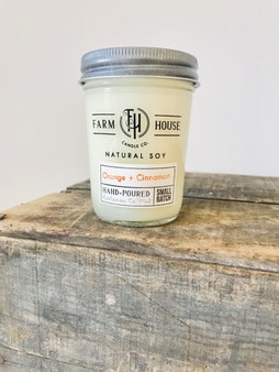 Candle Jar - Orange + Cinnamon