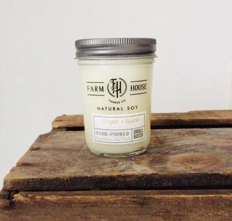 Candle Jar - Sugar + Spice