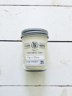 Candle Jar - Fig + Olive