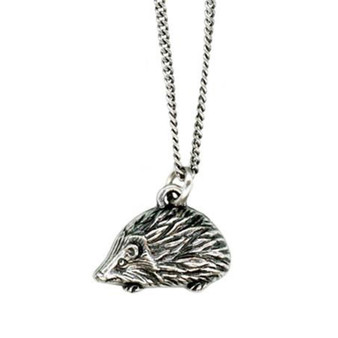 hedgehog necklace from Rood + Crow