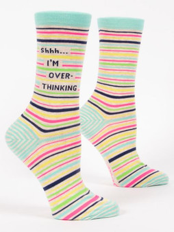 Shhh... I'm Over-Thinking Socks
