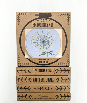 Embroidery Kit - Queen Anne's Lace
