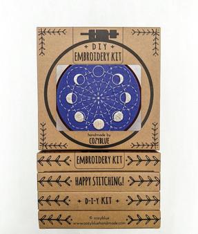 Embroidery Kit - Lunar Blossom
