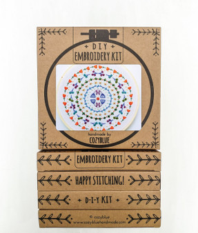 Embroidery Kit - Stitches in the Round