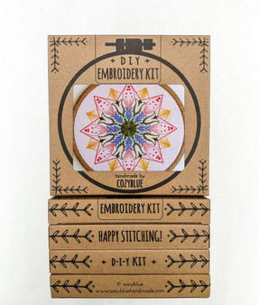 Embroidery Kit - Market Day