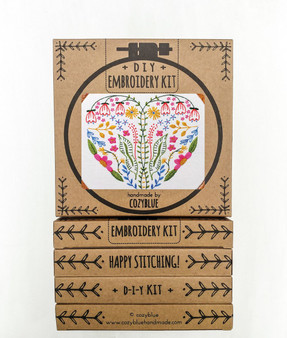 Embroidery Kit - Full Heart