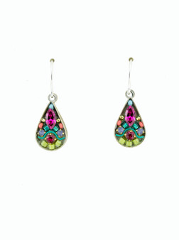 Swirl Mosaic Earring