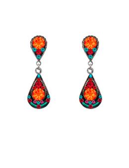 Sparkling Drop Mosaic Earring