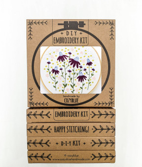 Embroidery Kit - Coneflower Magic