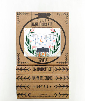 Embroidery Kit - Golden Slumbers