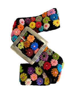 Meadow Embroidered Belt