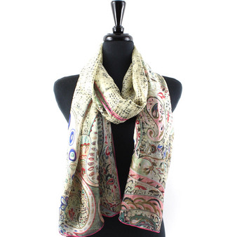 Paisley Lily Scarf