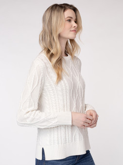 Rose Cable Pullover
