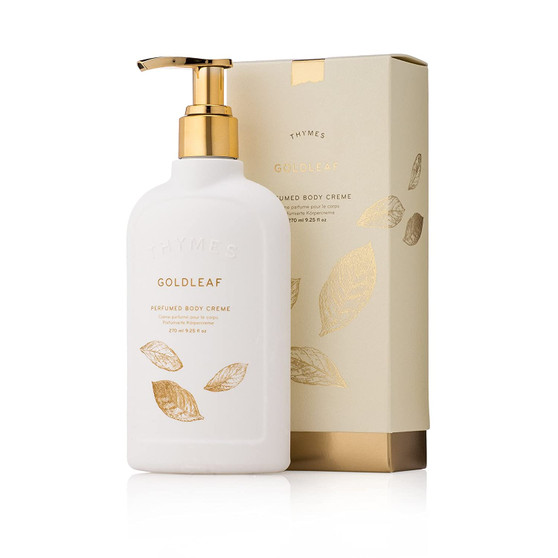 Goldleaf Body Creme, classic floral fragrance that is a customer favorite.