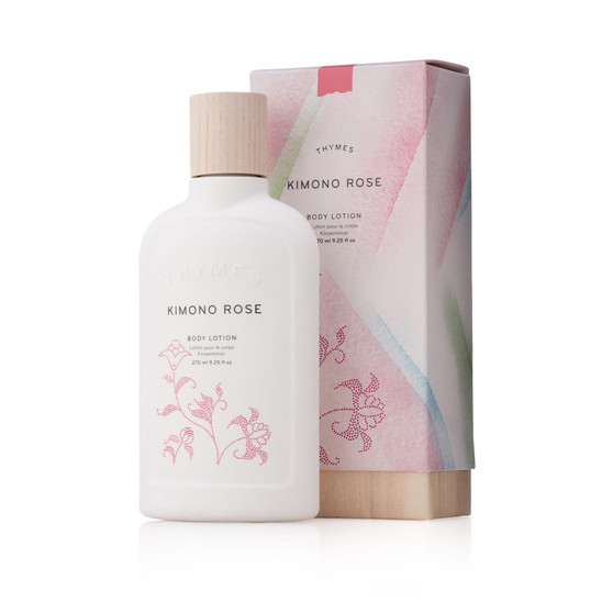 Kimono Rose body lotion by the Thymes