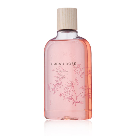 Kimono Rose body wash by the Thymes