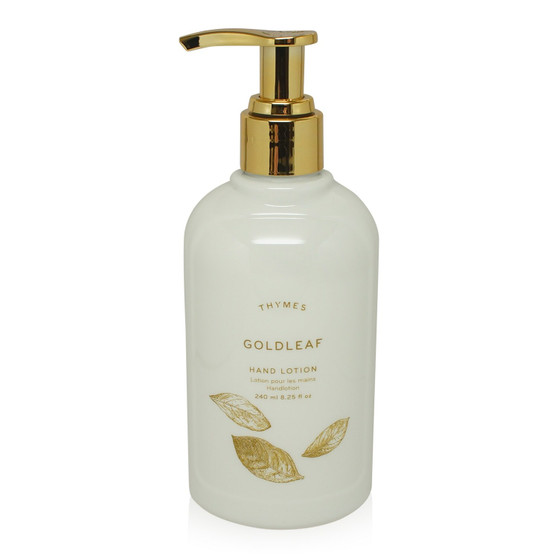 Goldleaf hand lotion from the Thymes