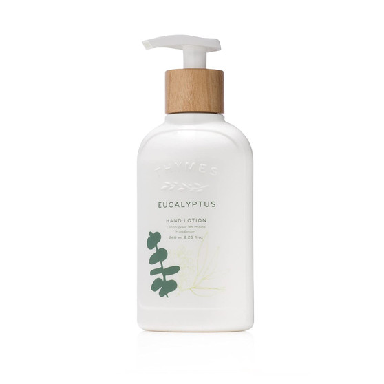 Eucalyptus hand lotion by the Thymes
