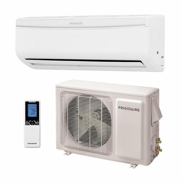 22000 BTU Frigidaire Ductless Split Air Conditioner with Heat Pump (SEER 20)