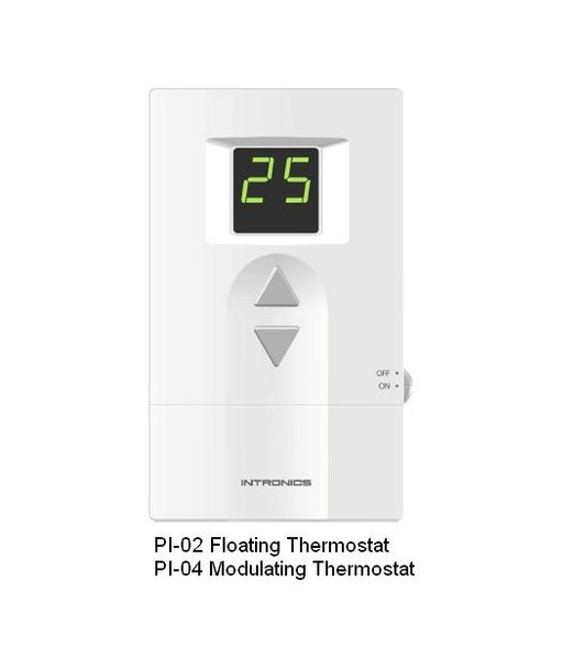 PI02 Digital Low Voltage Floating Thermostat