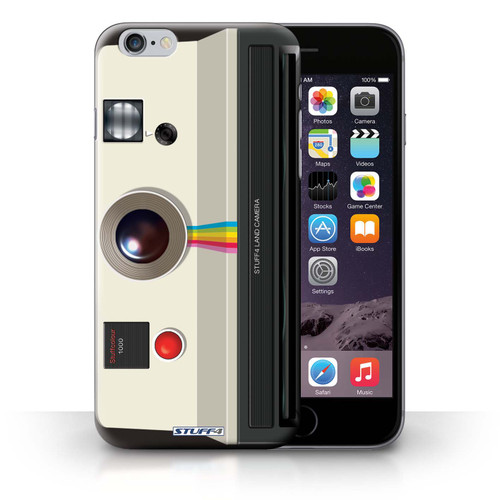 Protective Hard Back Case for iPhone 6+/Plus 5.5' / Camera Collection / Instant Retro
