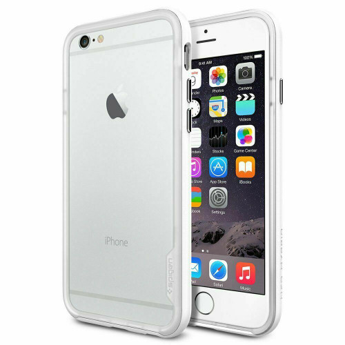 iPhone 6 Case, Spigen Neo Hybrid EX Snow Protective Cover - Infinity White