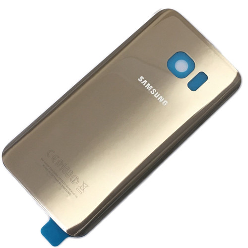 Replacement Gold Rear Back Battery Cover Glass For Samsung Galaxy S8
