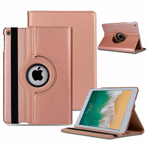 Apple iPad Air 3 10.5'' (2019) 360 Rotating Magnetic Smart Stand Rose Gold Case