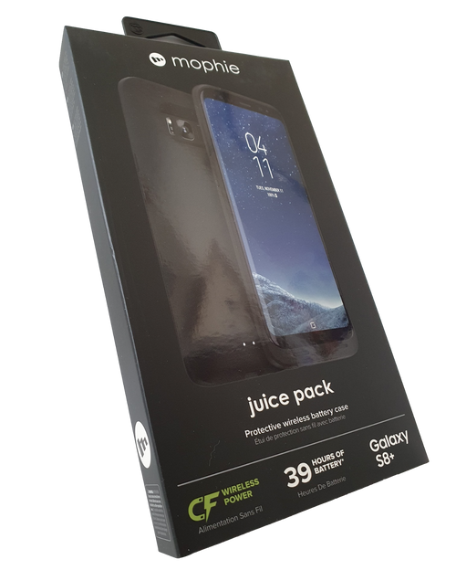 Mophie Samsung  Galaxy S8 Plus Juice Pack 3300mAh Battery Charging Cover