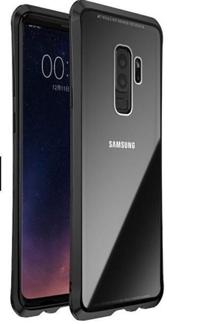 Samsung Galaxr S9  Black Shockproof LUPHIE Aluminum Metal Bumper Back Case
