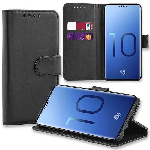 Samsung Galaxy  S10 Plus Leather Stand Flip Wallet Smart Case