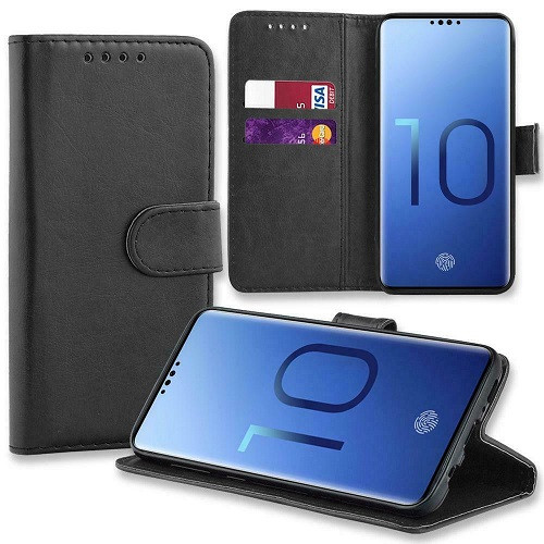 Samsung Galaxy  S10e Leather Stand Flip Wallet Smart Case