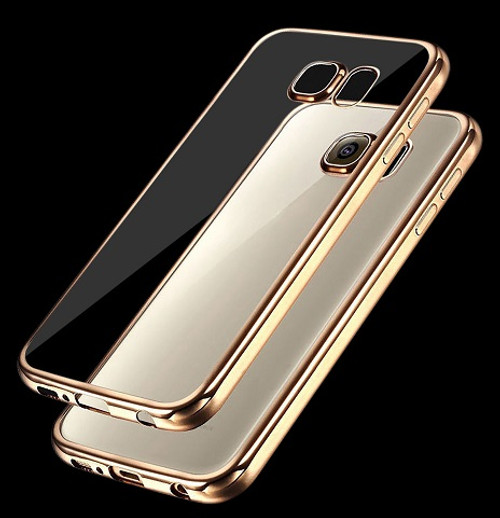 Samsung Galaxy  S5 Gold Gel Silicone  Case