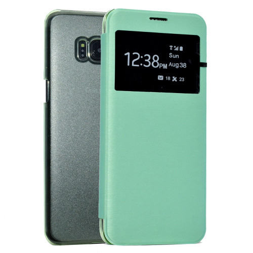 Samsung Galaxy  S6 Edge  Window View Case - Mint