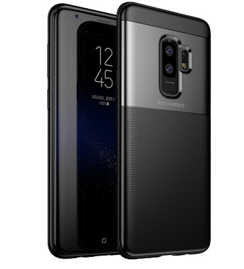 Samsung Galaxy  S9  Luxury 360 Shockproof Hybrid Case Black