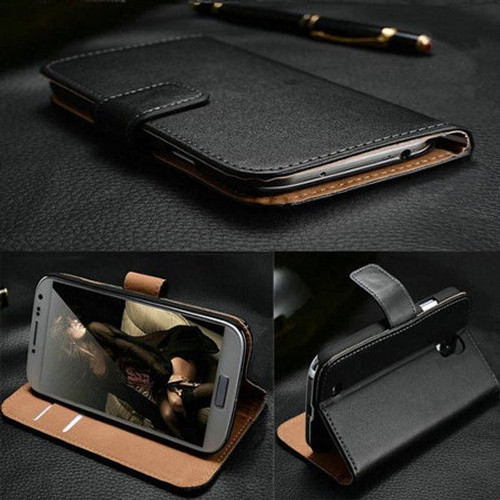 Samsung Galaxy J3  2016 Genuine Real Leather Wallet Cover