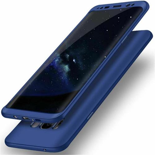 Samsung Galaxy Note 8 Cover 360 Luxury Thin Shockproof Hybrid Blue case