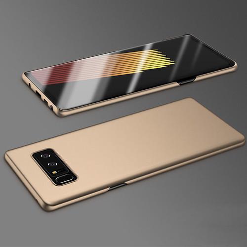 Samsung Galaxy Note 8 Gold Bumper Case & Screen Protector