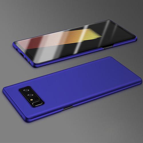 Samsung Galaxy Note 8 Purple Bumper Case & Screen Protector