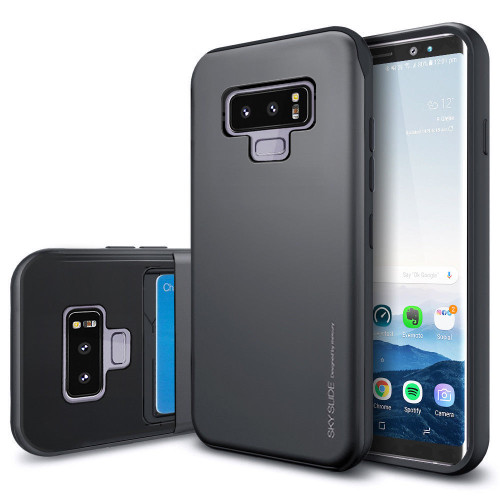 samsung Galaxy Note 9  Hard slim Shockproof 2-Credit Card Holder case