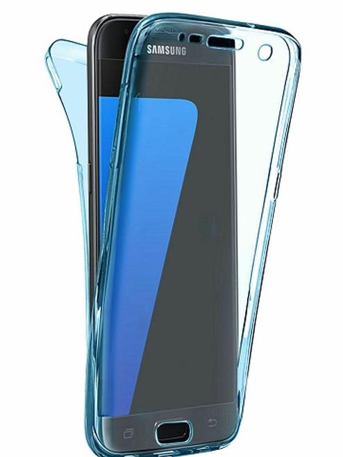 Samsung Galaxy S10 Plus Blue Slim Thin TPU 360 Cover Protective Phone Case