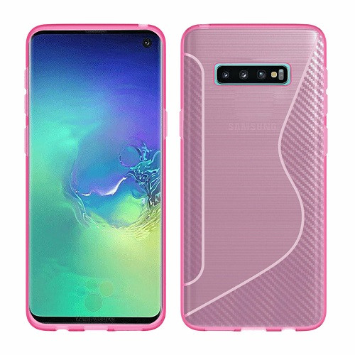 Samsung Galaxy S10 Plus Pink Hybrid Shockproof  Bumper case