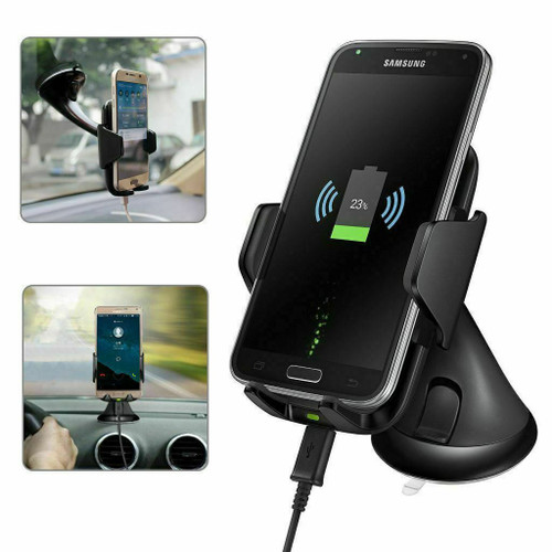 Samsung Galaxy S10e S10 S10 plus Qi Wireless Fast Charger Car Holder